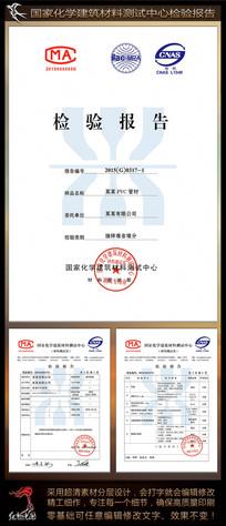 国家化学建筑材料检验报告模板