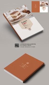 黑森林蛋糕产品宣传册封面