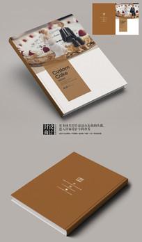 婚礼创意蛋糕定制宣传册封面
