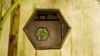 江南私家园林窗洞