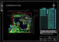 某花园小区景观平面设计施工图
