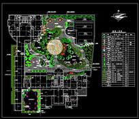 某商住楼屋顶花园设计施工图