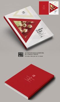 起士蛋糕宣传促销画册封面