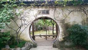 私家园林门洞