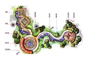 旱溪景观设计彩平