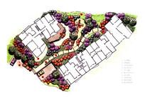 住宅区景观规划节点彩平
