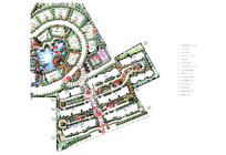 住宅区园林规划设计彩平