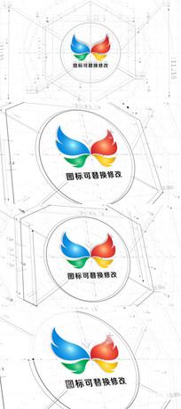 建筑工程设计图绘制标志模板