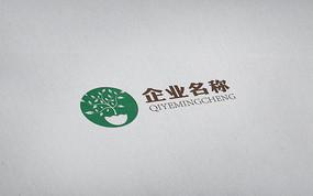 生态科技公司简约现代logo