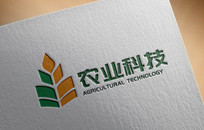 生态科技农业农场LOGO