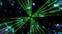 旋转光线动感节奏LED视频