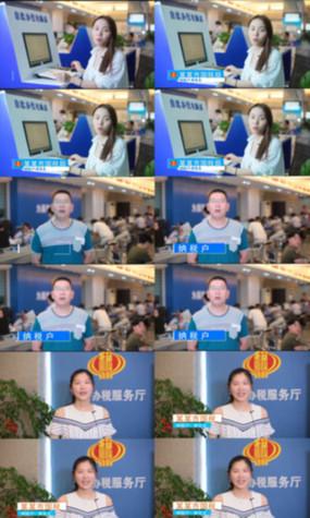 字幕条人物采访人物介绍视频