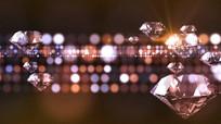 闪烁光斑钻石LED视频背景