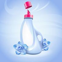 洗涤剂包装标签效果图