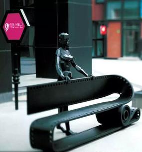 创意雕塑意向图