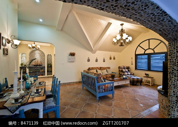 度假别墅室内设计图片