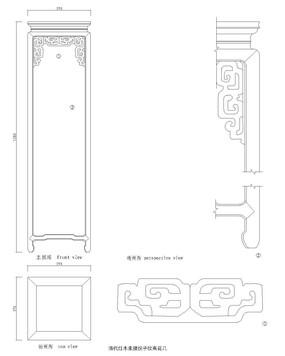 衣柜立体结构图