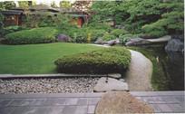 日式庭院意向图