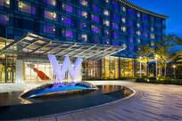 新加坡度假酒店标识景观 JPG