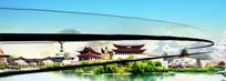 中国风水墨城市宣传片动态视频
