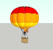 彩色热气球SU