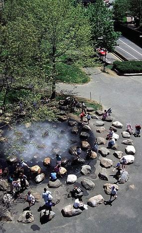 哈佛大学唐纳喷泉