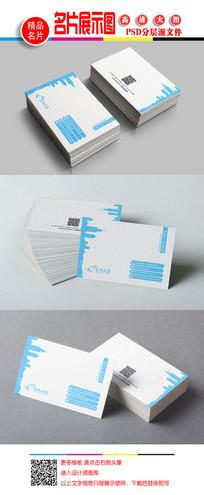 建筑大气房地产名片卡片 PSD