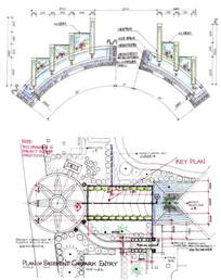 水景设计手绘图 JPG