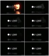 火焰Logo文字动画
