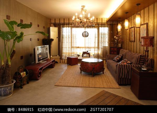 东南亚别墅室内装修图片
