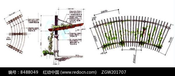 红动网提供手绘素材精品原创素材下载,您当前访问作品主题是廊架效果
