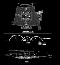 棋桌区小品样式CAD dwg