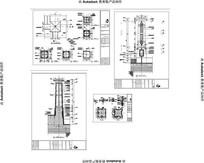 铁质水池灯柱 CAD