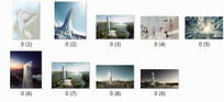 珠海斗门区的景观塔项目