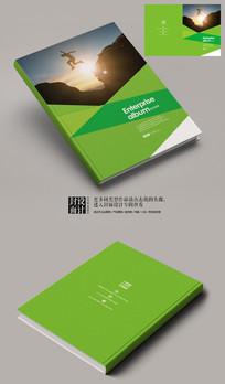 跨越人生颠峰商务杂志封面设计