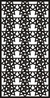 五角星雕刻图案