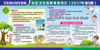 儿童预防接种健康教育宣传展板