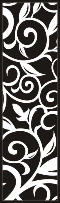隔断花纹雕刻图案