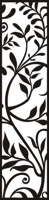 花麦雕刻图案