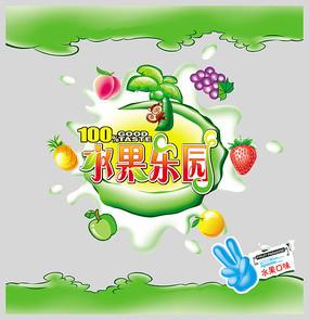 水果乐园糖果包装设计