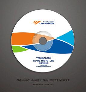 时尚色彩光盘画面设计 CDR