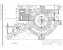 中心庭院平面图