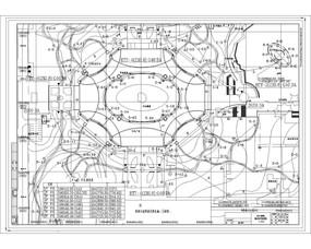 中央广场弱电平面布置图