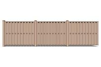 别墅住宅围墙模型