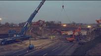 工程建筑延时摄影宣传片视频