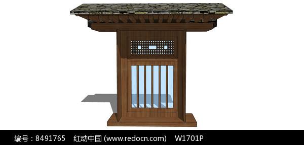 木结构古代建筑窗户