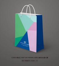 清新购物手提袋设计