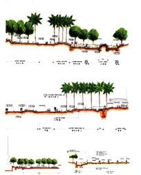景观建筑断面图景观_图片手绘断面图设计素材女主是手绘设计师叫苏图片