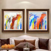 抽象油画现代油画