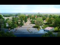 公园景观效果图设计